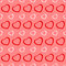 Stock Image : Pink and red hearts seamless Valentine background