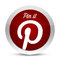 Stock Image : Pinterest - pin it button