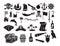 Stock Image : Pirates icons set