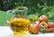 Stock Image : Pitcher of Apple Juice
