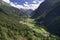Stock Image : Pitztal Valley in Tirol
