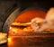 Stock Image : Pizza baking