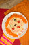 Stock Image : Pizza face