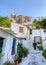 Stock Image : Plaka σπιτιών της Αθήνας Ελλάδα παραδοσιακό