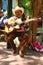 Stock Image : PLAYA DEL CARMEN, MEXICO-MARCH 18: Mexican guitari