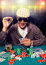 Stock Image : Poker face