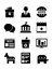 Stock Image : Political Icons Set