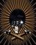 Stock Image : Pop star skull vector illustration
