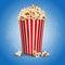Stock Image :  popcorn