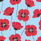 Stock Image : Poppy background