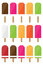 Stock Image : Popsicles set