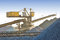 Stock Image : Port crane