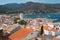 Stock Image : Port de la Selva view of the town in the Mediterranean sea.