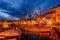 Stock Image : Port of Sanary-sur-Mer in the evening, Var, France