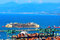 Stock Image : Port of voltri, genoa, italy, july 27