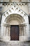 Stock Image : Portal to Saint Martin's Cathedral in Spisska Kapitula, Slovakia