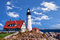 Stock Image : Portland Head Lighthouse in Maine