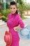 Stock Image : Portrait beautiful Asian Girl