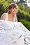 Stock Image : Portrait of beautiful greek woman bride