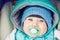 Stock Image : Smiling little boy