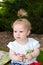 Stock Image : Portrait of little girl