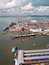 Stock Image : Portsmouth harbour and Naval Dockyard