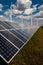 Stock Image : Power plant using renewable solar energy