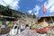 Stock Image : Prayer Flags on the Gods Mountain