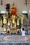 Stock Image : Praying Grand Palace Bangkok