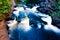 Stock Image : Presque Isle River gorge