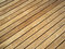 Stock Image : Pressure treated wood deck