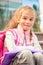 Stock Image : Primary school student