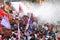 Stock Image : Protest against Philippine President Aquino