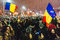 Stock Image : Protests in Bucharest