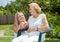 Stock Image : Providing care for elderly