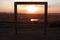 Stock Image :  Puesta del sol africana capítulo en muestra de las ventas