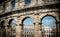 Stock Image :  pula Хорватии amphitheatre