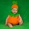 Stock Image : Pumpkin baby