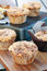Stock Image : Pumpkin Muffins with Crumb Topping