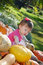 Stock Image : Pumpkin Patch Fun