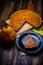 Stock Image : Pumpkin pie