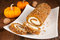 Stock Image : Pumpkin roll