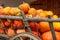 Stock Image : Pumpkin wagon
