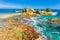 Stock Image : Punta Sur, Isla Mujeres, Mexico view