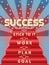 Stock Image : Punti all'immagine di successo