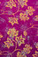 Purple Indonesian Batik with Leaves Pattern