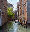Stock Image : Quiet Venice Canal