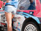 Stock Image : Racing car