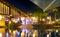 Stock Image : Radisson Fiji Resort by night