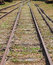 Stock Image : Railroad track